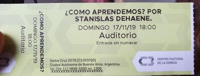 Centro Cultural de la Ciencia is one of ¡muy buenos!.
