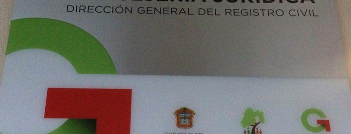 Direccion General Del Registro Civil Edomex is one of Tempat yang Disukai Jack.