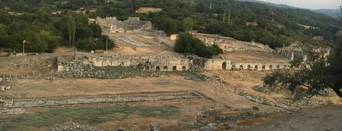 Tlos Antik Kent is one of Fethiye.