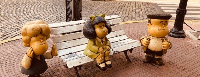 Monumento a Mafalda, Susanita y Manolito is one of Tempat yang Disukai Alberto J S.
