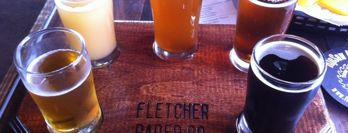 Fletcher Street Brewing Co is one of Michigan Breweries.