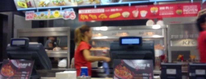 KFC is one of Székesfehérvár.
