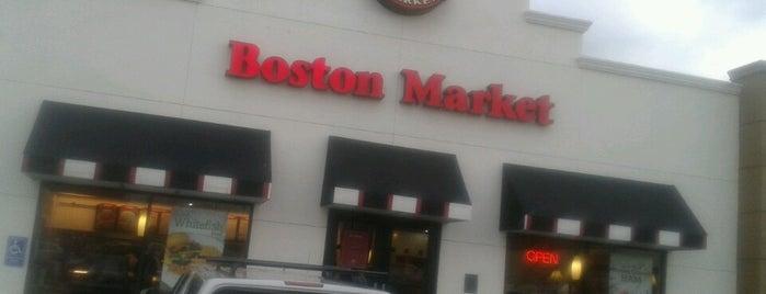 Boston Market is one of Lugares favoritos de William.