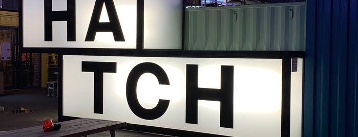 Hatch is one of Lieux qui ont plu à Asli.
