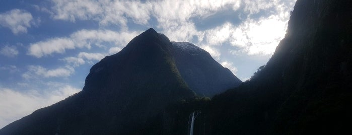 Milford Sound Visitor Centre is one of NZ.