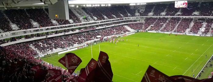 Stade Matmut Atlantique is one of EURO 2016 STAD LAR.