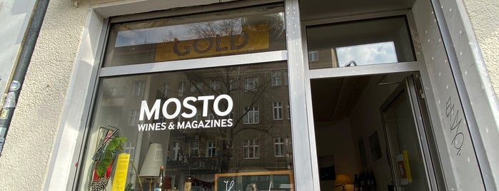 Mosto Wines & Magazines is one of Berlin Best: Shops & services.