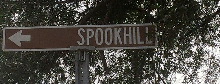 Spook Hill is one of Locais salvos de Carlo.