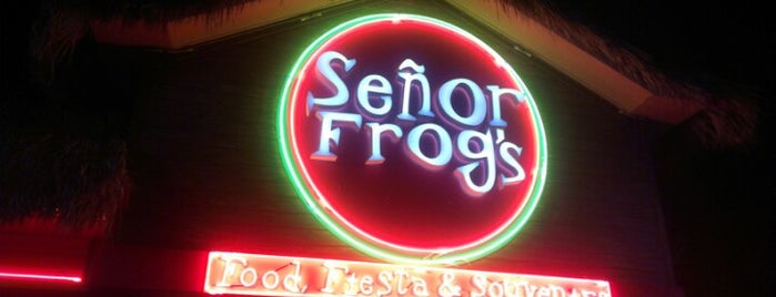 Señor Frog's is one of Horacio 님이 좋아한 장소.