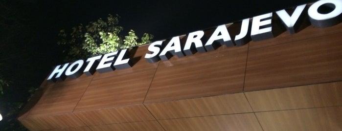 Hotel Sarajevo is one of Tempat yang Disimpan Mustafa.