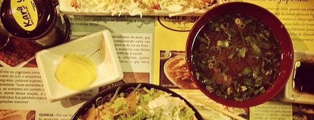 Karê ya Restaurante Japonês is one of Curitiba Bon Vivant & Gourmet.
