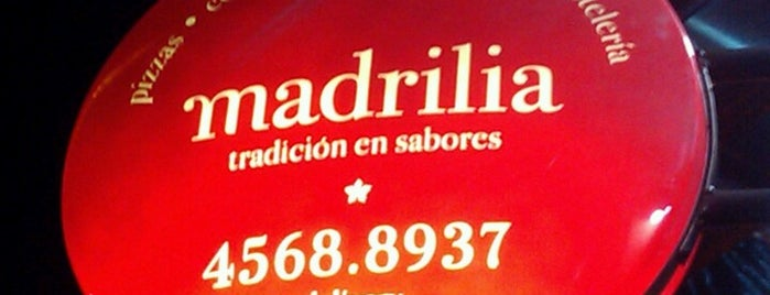 Madrilia (Resto-Cafe) is one of Listas wi fi.