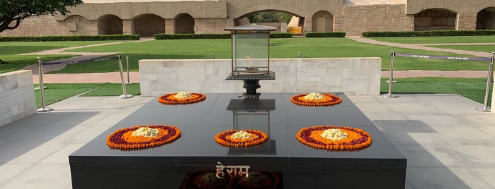 Rajghat is one of DELHI.