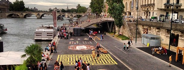 Berges de Seine – Rive gauche is one of Running spot.