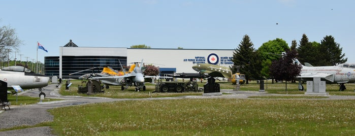 National Air Force Museum of Canada is one of Nelson's Saved Places.