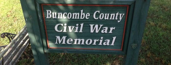 Buncombe County Civil War Memorial is one of North Carolina.