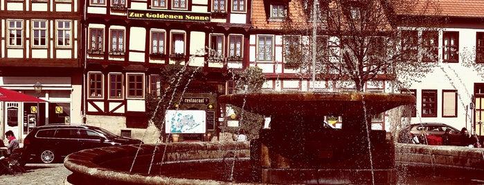 Hotel & Restaurant Zur Goldenen Sonne is one of Quedlinburg.