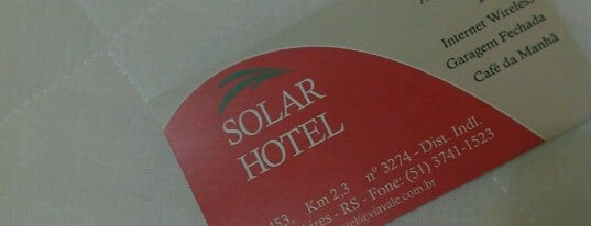 Solar Hotel is one of Hotéis.
