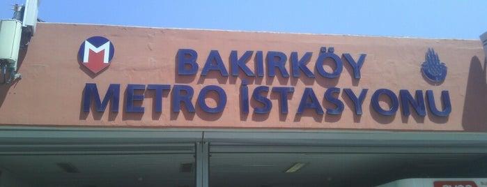 Bakırköy - İncirli Metro İstasyonu is one of Locais salvos de Isa Baran.