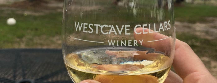 Westcave Cellars is one of Austin.