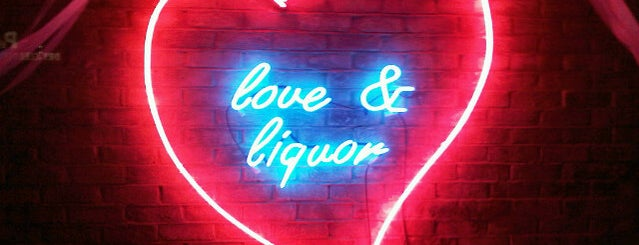 Love & Liquor is one of FIVE BEST: Late night bars for school nights.
