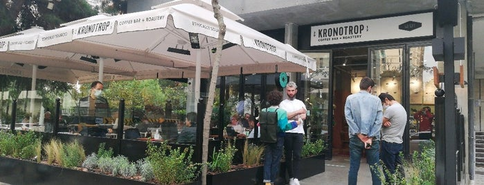 Kronotrop is one of My favourites for Cafes & Restaurants.