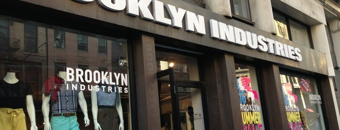 Brooklyn Industries is one of Lugares guardados de Liz.