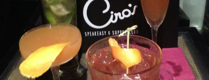Ciro's Speakeasy and Supper Club is one of Tampa Bars.