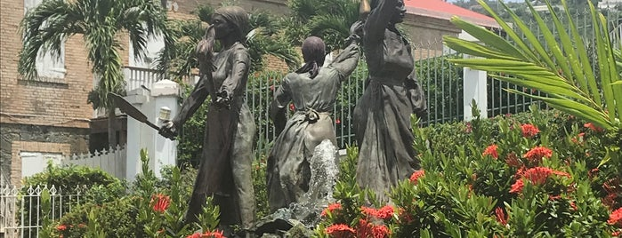 The Three Queens of the Virgin Islands is one of USVI/BVI.