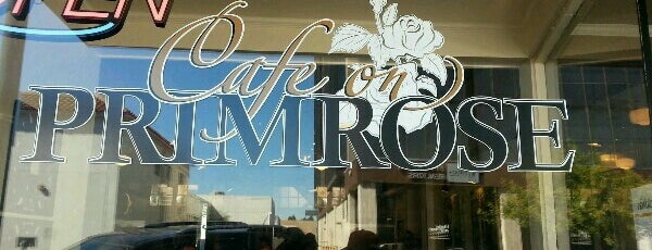 Cafe on Primrose is one of Lugares favoritos de Liza.