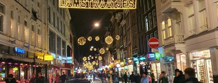 de Dam Straat is one of Amsterdam.