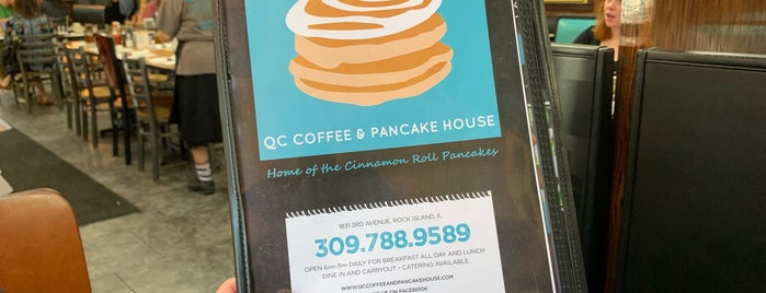 QC Coffee & Pancake House is one of Nikさんのお気に入りスポット.
