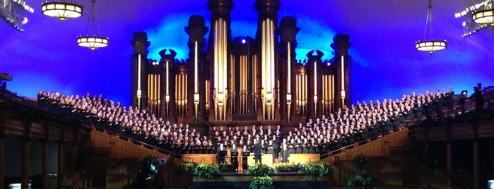 Salt Lake Tabernacle is one of Tempat yang Disimpan Edmund.