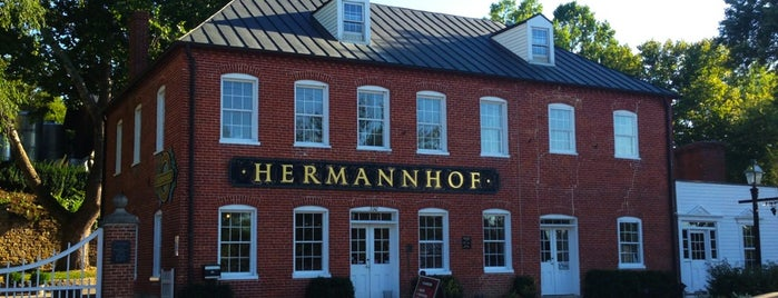 Hermanhoff Winery is one of Posti che sono piaciuti a Ashley.