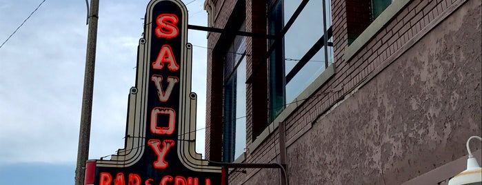Savoy Bar & Grill is one of Illinois, Indiana, Ohio, Michigan.