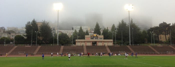 Kezar Stadium is one of SF.