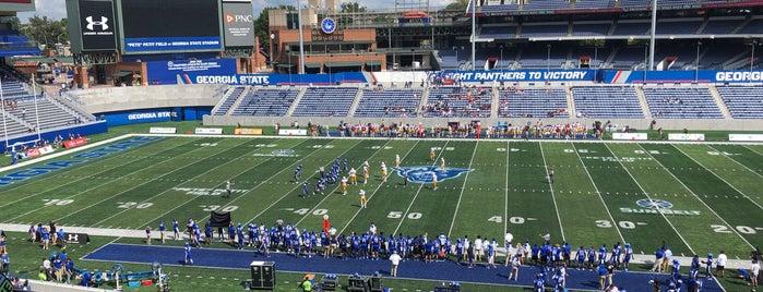 Georgia State Stadium is one of FBS Stadiums.