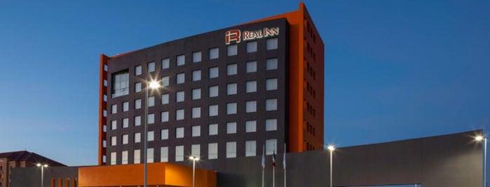 Hotel Real Inn is one of Hoteles en La Laguna.