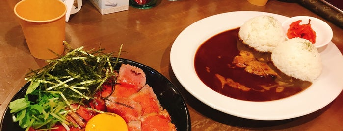 CAMEL DINER is one of (・肉・).