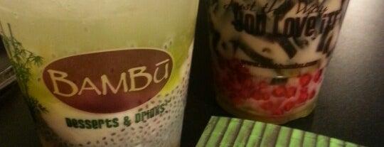 Bambu Desserts & Drinks is one of Lieux qui ont plu à Pam.