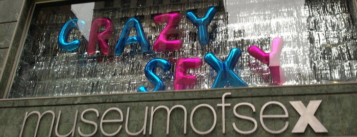 Museum of Sex is one of New York City Spots.