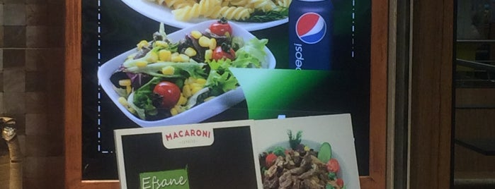 Macaroni Express is one of Lugares favoritos de Ayşe Tolga💕.