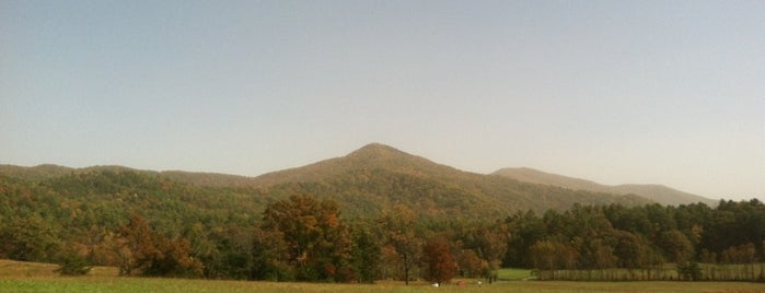 Cades Cove is one of CBS Sunday Morning 3.
