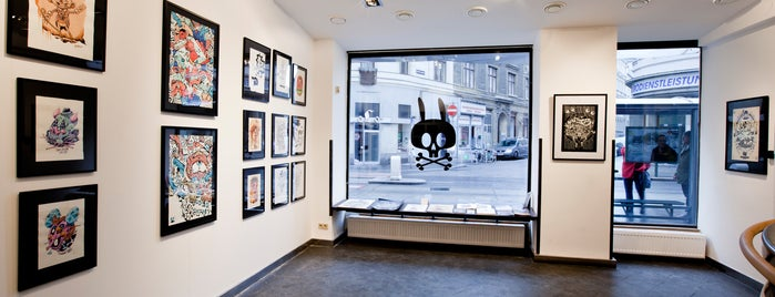 RABBIT EYE MOVEMENT Art Space is one of Vienna.
