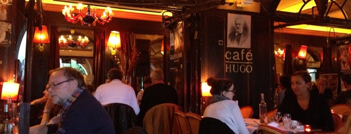 Café Hugo is one of Paris.