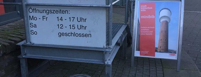 minibib im Wasserturm is one of Köln-Kalk.