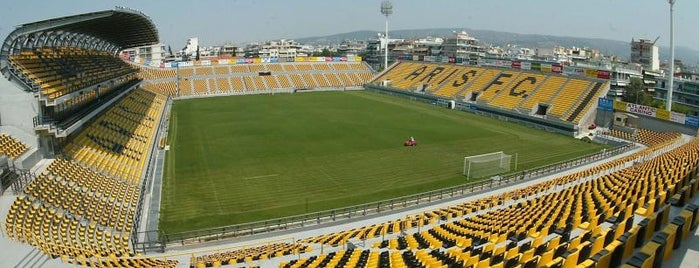 Kleanthis Vikelidis Stadium is one of Thessaloniki #4sqCities.