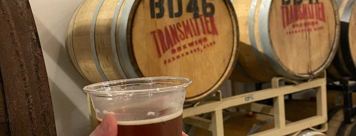 Transmitter Brewing is one of Tempat yang Disimpan Anthony.