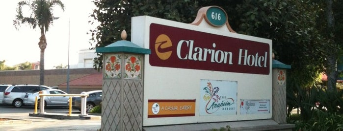 Clarion Hotel Anaheim Resort is one of so cal.