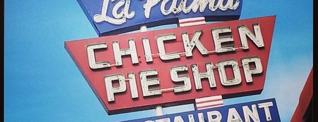 La Palma Chicken Pie Shop is one of Old Los Angeles Restaurants Part 1.
